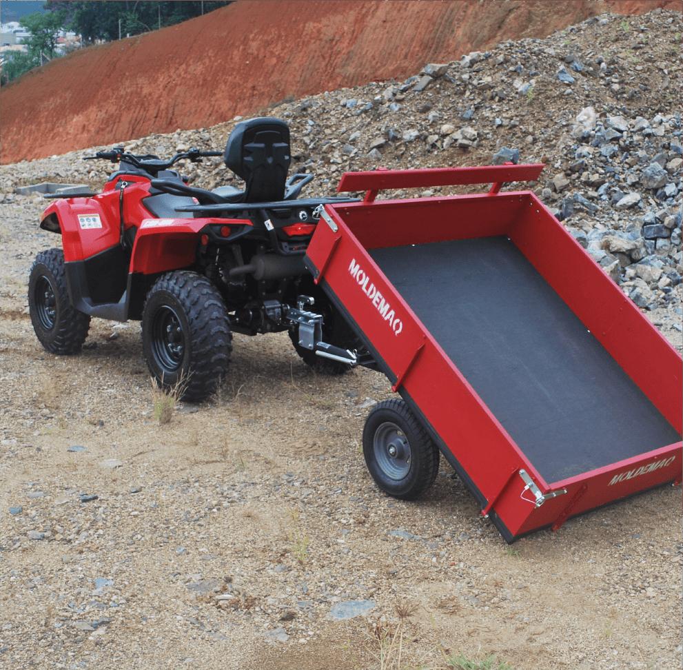 Implemento Quadriciclo - Carreta Basculante-05