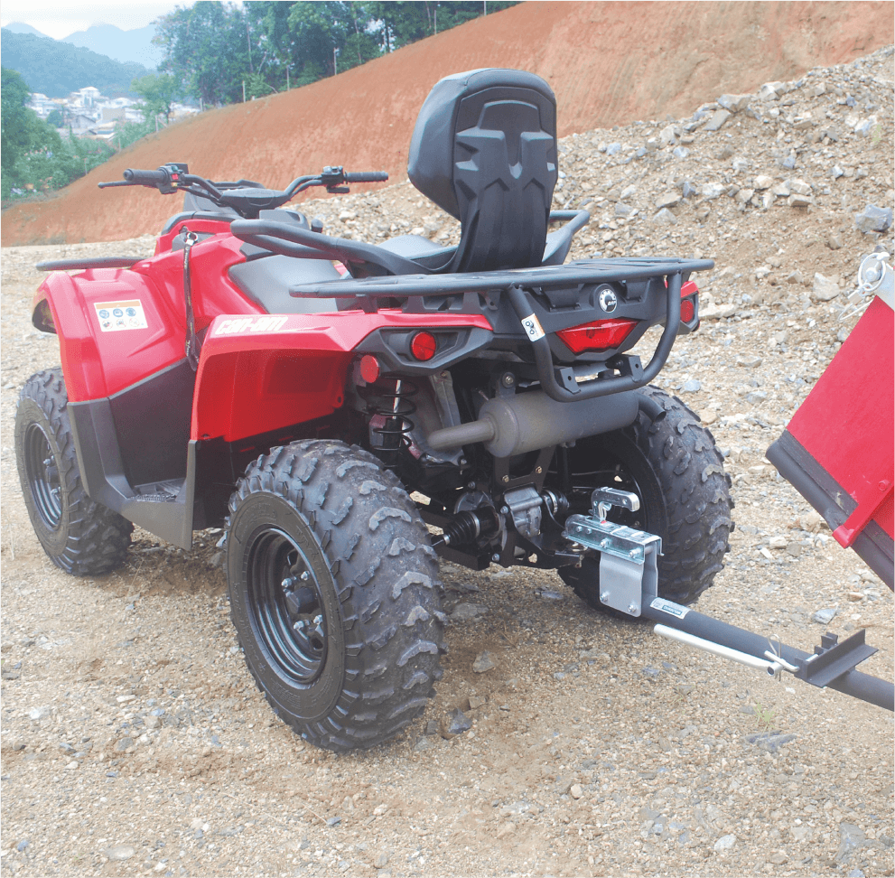 Implemento Quadriciclo - Carreta Basculante-06